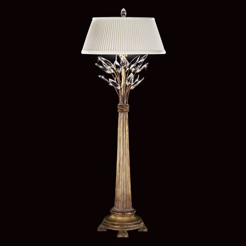 "Fine Art Lamps Crystal Laurel 36"" H 1 Light Table Lamp"