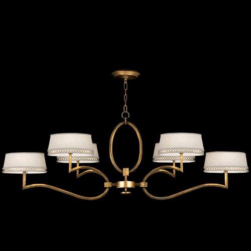 Fine Art Lamps Allegretto 6 Light Chandelier
