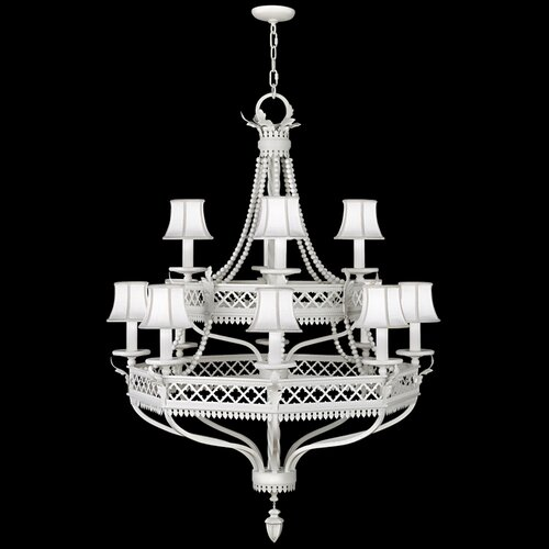 Villa Vista 12 Light Chandelier