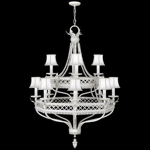 Fine Art Lamps Villa Vista 12 Light Chandelier