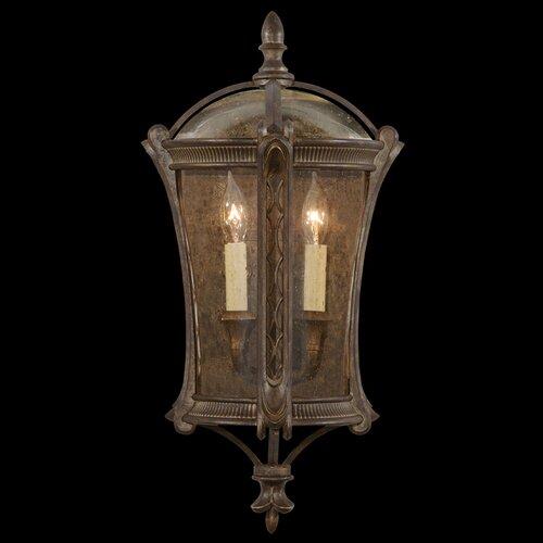 Fine Art Lamps Gramercy Park 2 Light Outdoor Wall Lantern