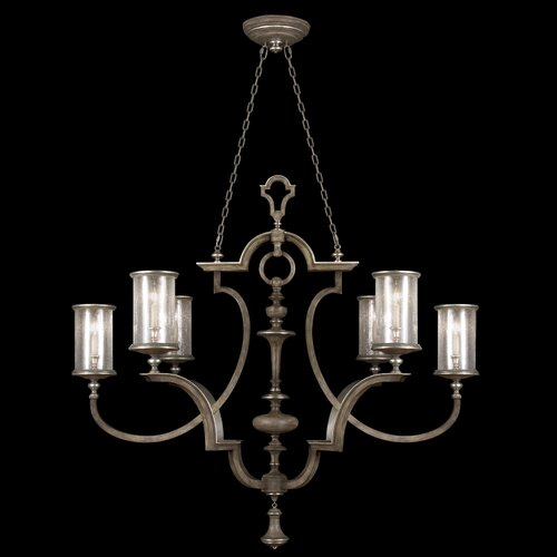 Villa Vista 6 Light Oblong Chandelier