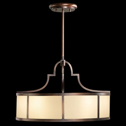Fine Art Lamps Portobello Road 8 Light Drum Pendant