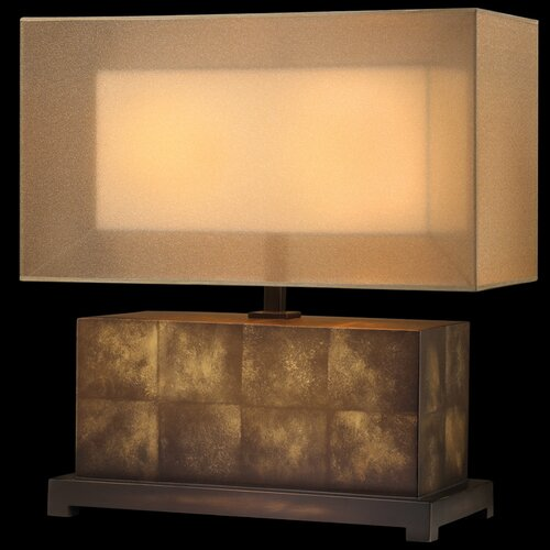 Fine Art Lamps Quadralli Table Lamp with Rectangle Shade