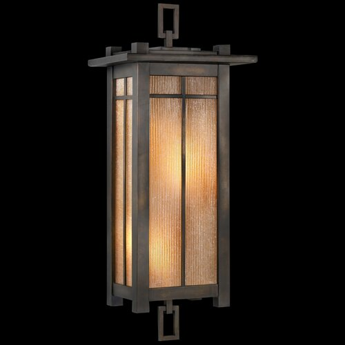 Fine Art Lamps Capistrano 2 Light Outdoor Wall Lantern