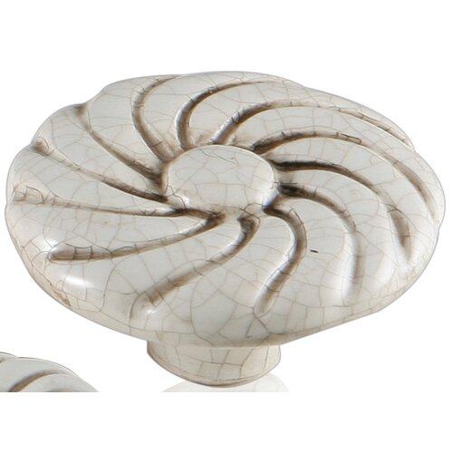 "Bosetti-Marella Ceramic Knobs 1.75"" Ray Knob"