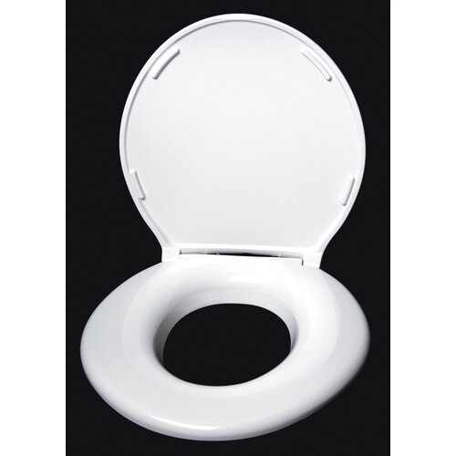 Big John Closed Front Round Toilet Seat