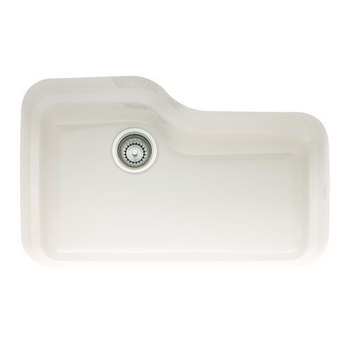 "Franke Orca 30"" x 19.5"" Fireclay Undermount Kitchen Sink"