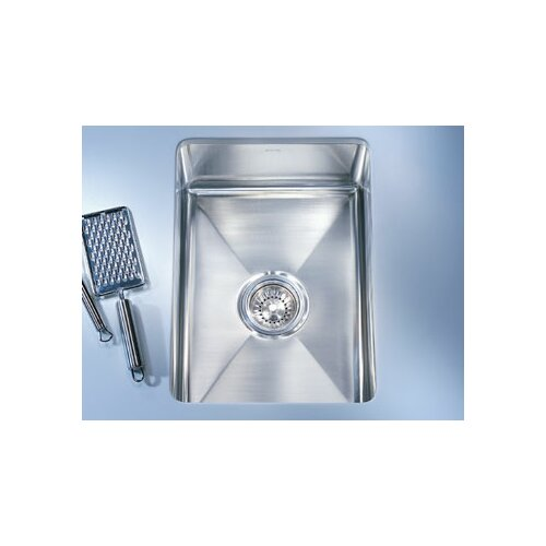 "Franke Professional 17.5"" x 19.5"" x 7.5"" Under Mount Kitchen Sink"