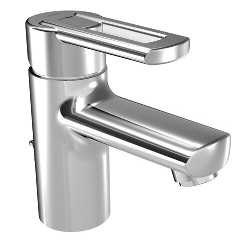 Hansa HansaRonda Single Hole Bathroom Faucet with Single Handle