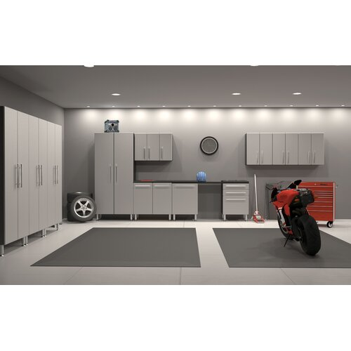 Garage PRO 12-Piece Classic Storage System with Workstation