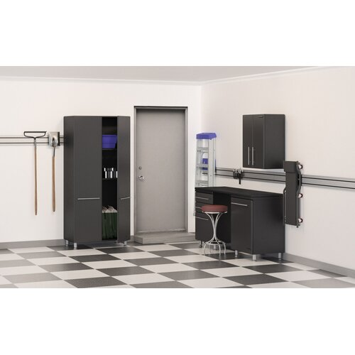 Garage 7' H x 11' W x 2' D 5-Piece Cabinet Set