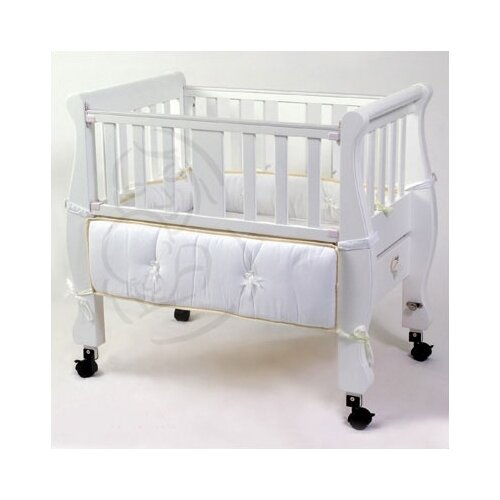Arm's Reach Sleigh Bed Co-Sleeper Bassinet