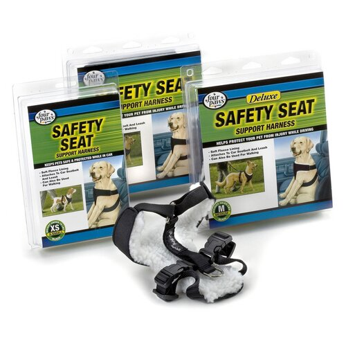 Safety Seat Support Dog Harness
