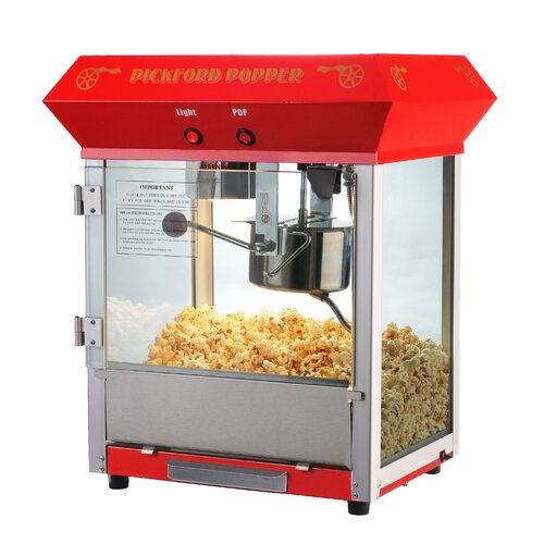 Great Northern Popcorn Pickford 2 Gallon Bar Style Popcorn Machine Top