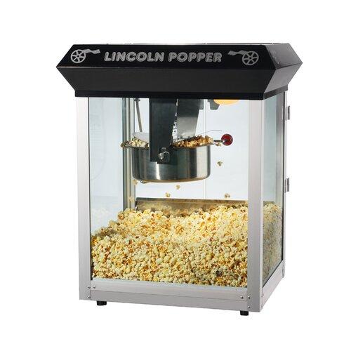 Great Northern Popcorn 8 oz Lincoln Antique Popcorn Machine