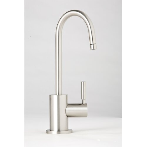 Parche One Handle Single Hole Hot Water Dispenser Faucet with Lever Handle