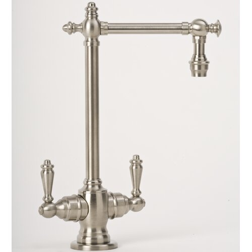 Towson Two Handle Single Hole Bar Faucet with Lever Handle