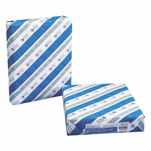 "Elite Image Multipurpose Paper, 3-Hole Punch, 98 Brightness, 8-1/2""x11"", Carton, White"