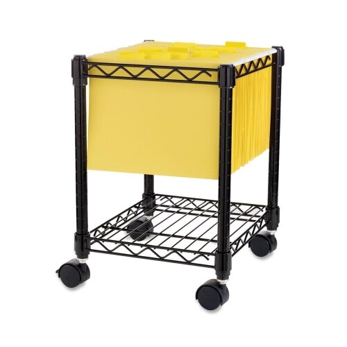 """Lorell Compact 19.5"""" Mobile Cart"""