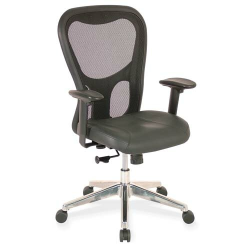 Lorell High-Back Executive Office Chair with Arms