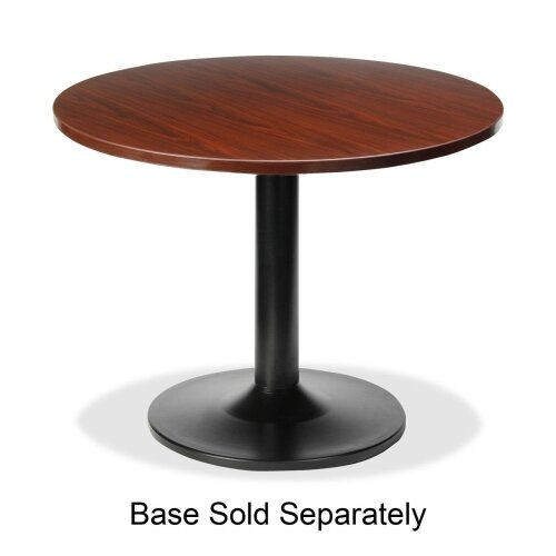 "Lorell 87000 Series 42"" Round Gathering Table Top"