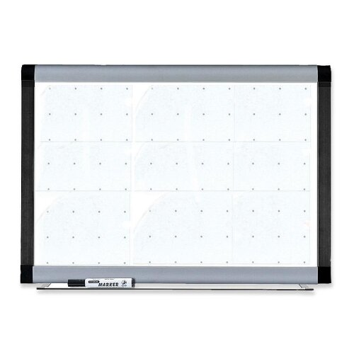 Lorell Magnetic 3' x 4' Whiteboard