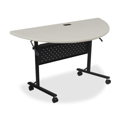 Lorell Half-Round Flipper Training Table