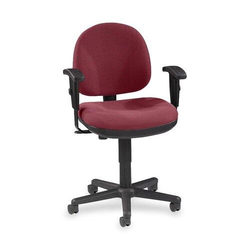 Lorell Lorell Millenia Series Pneumatic Adjustable Task Chair