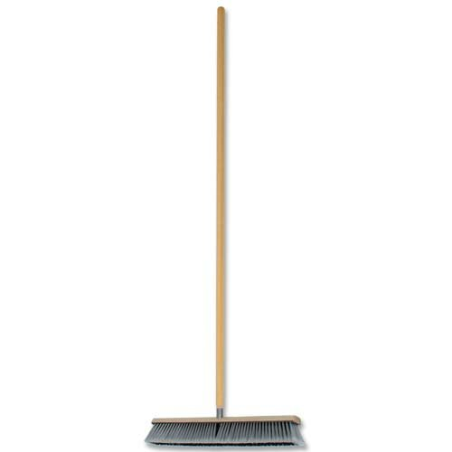 Genuine Joe Floor Sweep and Handle, Oak
