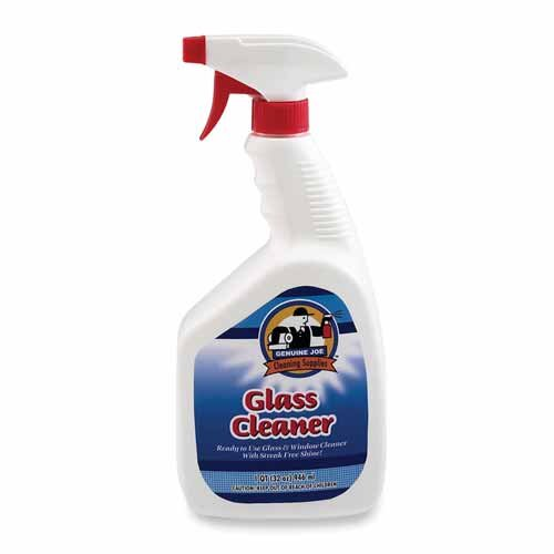 Genuine Joe Non-streaking Glass Cleaner, White