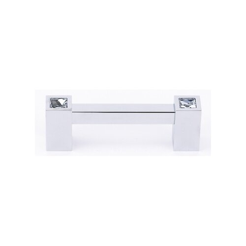 "Alno Inc Swarovski Crystal 3"" Bar Pull"