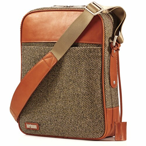 Tweed Belting Vertical Cross Body