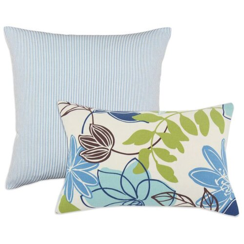 Chooty & Co Monaco and Oxford Polyester  Cotton Pillow
