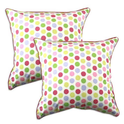 Chooty & Co Spatter Cotton Pillow