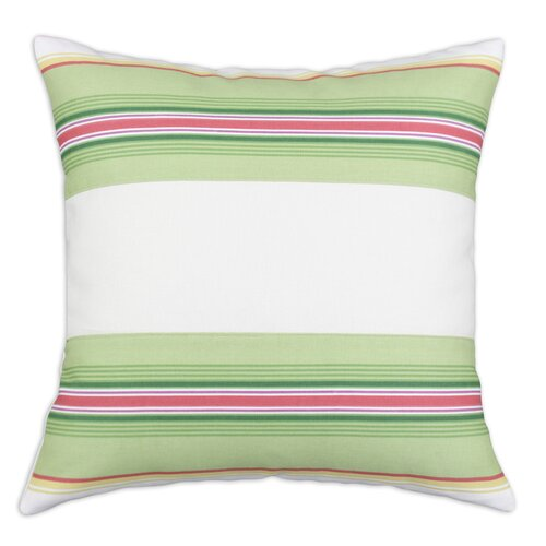 Chooty & Co Saxony Andari Stripe Multi-Saxony 3 Pieced Horizontal  Cotton Pillow