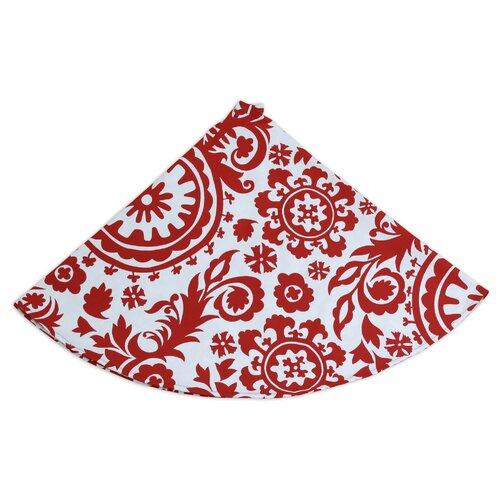Chooty & Co Suzani Round Hemmed Tree Skirt