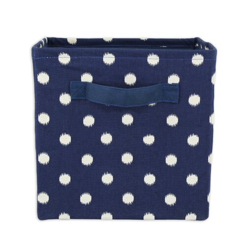 Ikat Dot Sunshine Storage Bin with Handle