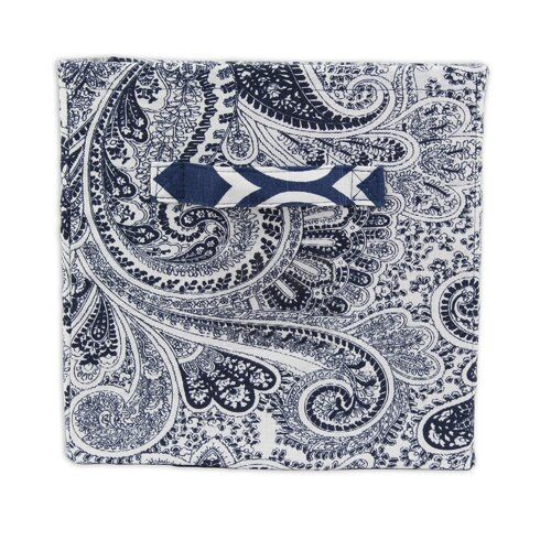 Paisley Storage Bin with Handle
