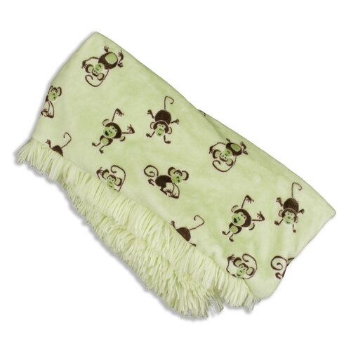 Shaggy Polyester Reversible Throw