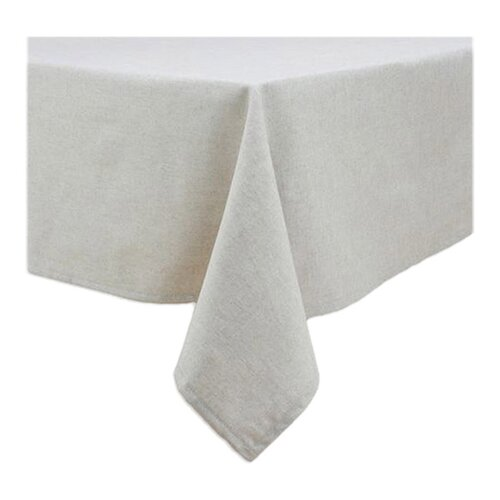 Wisdom Burlap Hemmed Tablecloth