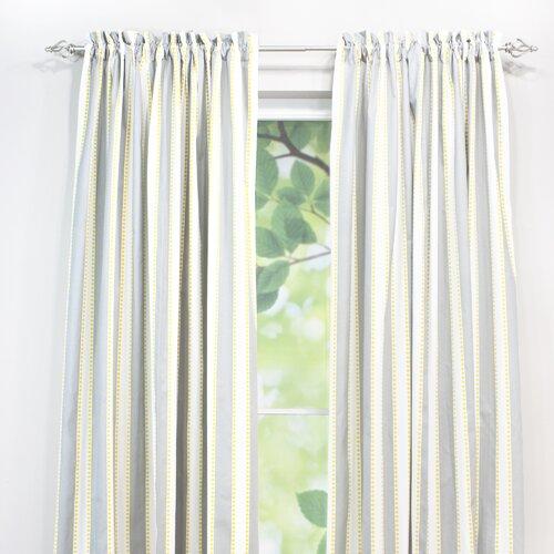 Lulu Storm Rod Pocket Curtain Panel