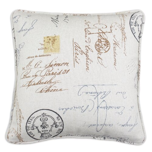 Chooty & Co Postale Corded Cotton Pillow