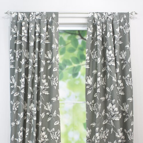 Chooty & Co Antebellum Cotton Top Tab Curtain Single Panel