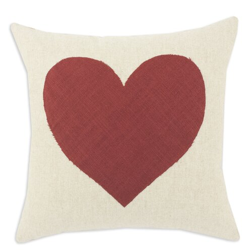 Heart Linen Pillow