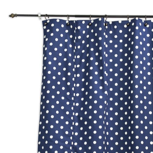 Ikat Dot Sunshine Shower Curtain