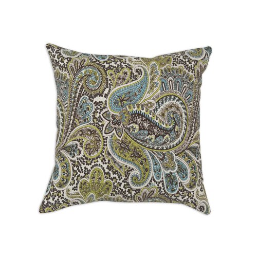 Chooty & Co Paisley Cotton Pillow
