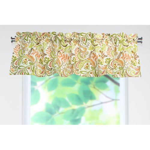 "Chooty & Co Findlay Apricot 54"" Curtain Valance"