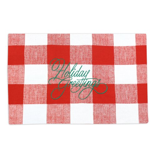 Chooty & Co Anderson Holiday Greetings Placemat