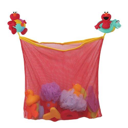 Sesame Street Elmo Bath Toy Organizer